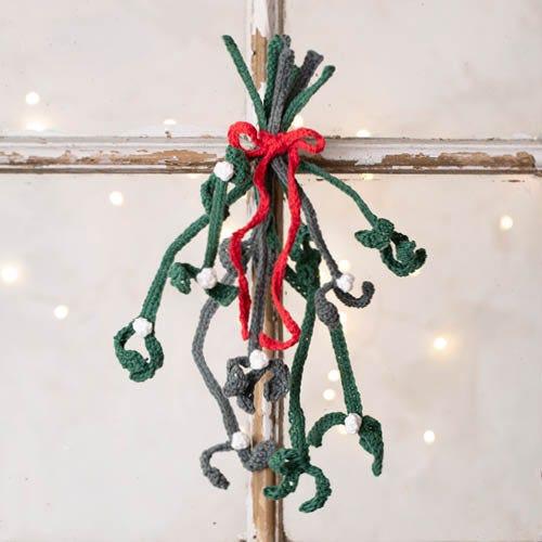 Kreative idéer til hæklet og strikket julepynt