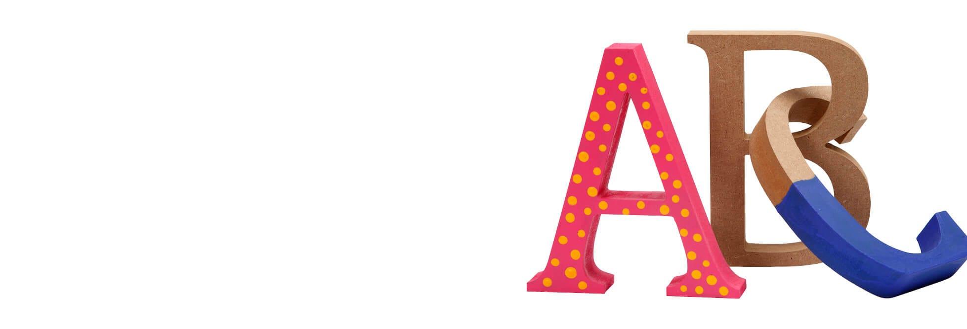 Letters, cijfers en woorden