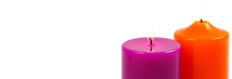 Kaarsen gieten