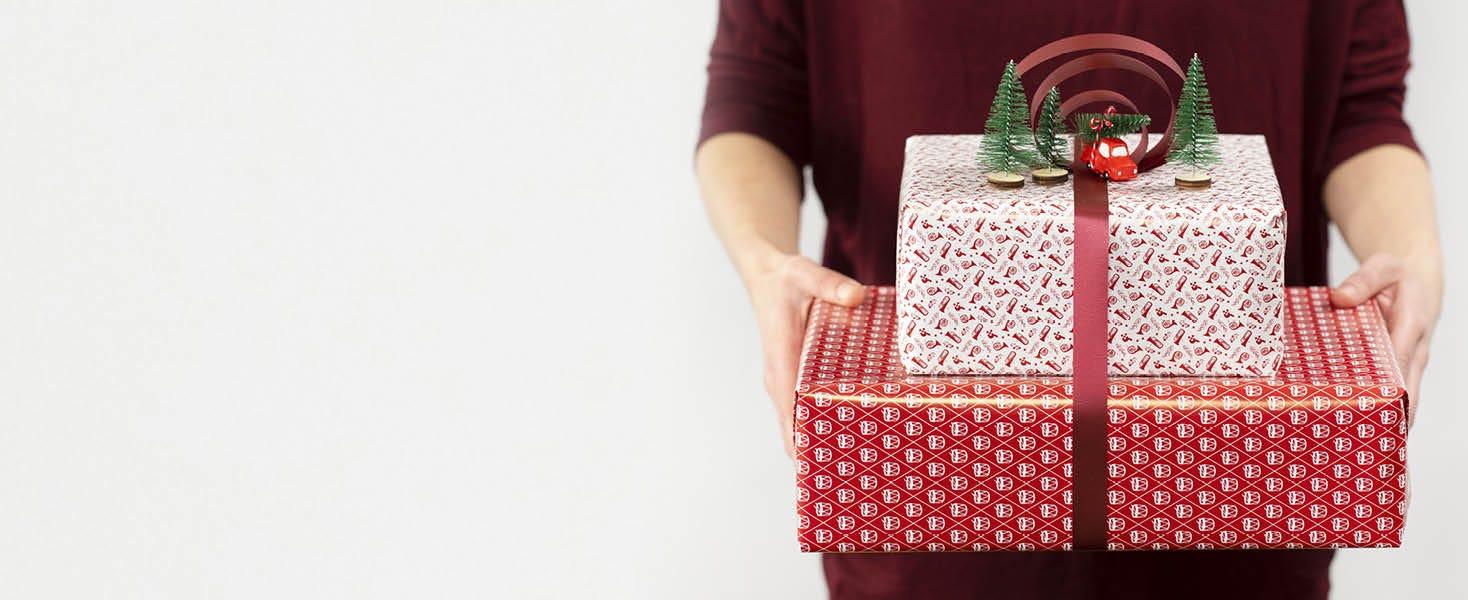 Cadeaus inpakken voor Kerst