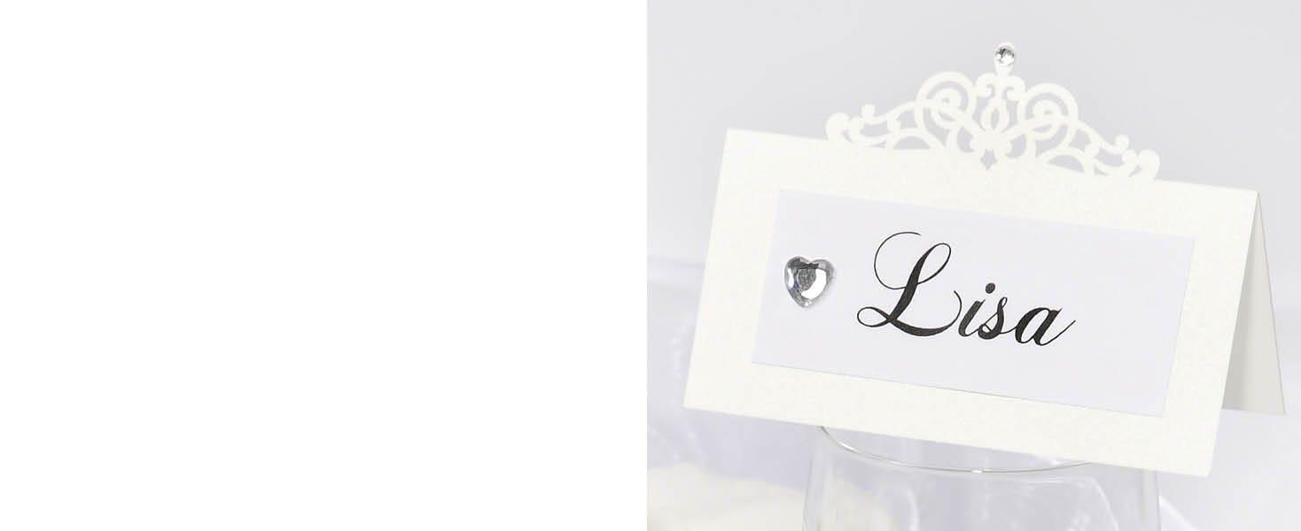 Plaatskaarten voor een bruiloft