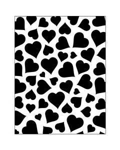 Embossing Folder , harten, afm 11x14 cm, dikte 2 mm, 1 stuk