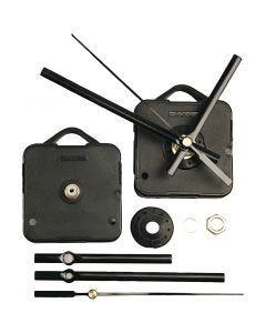 Uurwerk, max. afstand 6 mm, zwart, 1 set
