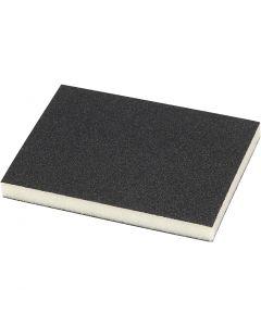 Schuurspons, 120, afm 9,5x12 cm, 4 stuk/ 1 doos