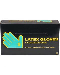 Latex handschoenen, afm small , 100 stuk/ 1 doos