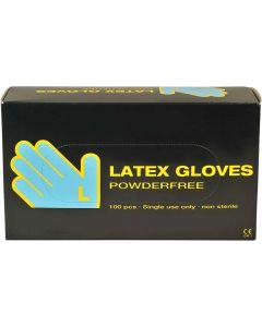 Latex handschoenen, afm large , 100 stuk/ 1 doos