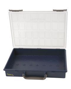 Opslag box, zonder losse inzet boxen, H: 5,7 cm, afm 33,8x26,1 cm, 1 stuk
