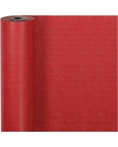 Cadeaupapier, B: 50 cm, 60 gr, rood, 100 m/ 1 rol