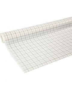 Ruitjespapier/Patroonpapier, B: 80 cm, 15 m/ 1 rol
