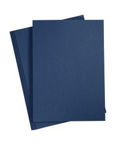 Papier, A4, 210x297 mm, 110 gr, blauw, 20 stuk/ 1 doos