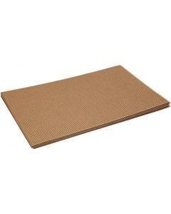 Ribbelkarton, 25x35 cm, 120 gr, 10 vel/ 1 doos