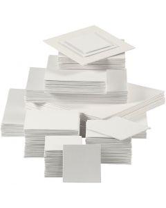 Canvas Paneel, 280 gr, wit, 110 stuk/ 1 doos