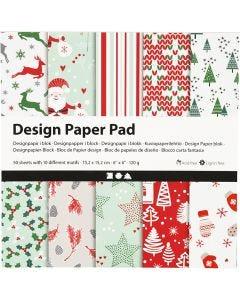 Design papierblok, 120 gr, 50 vel/ 1 doos
