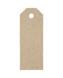 Labels, afm 3x8 cm, 220 gr, 20 stuk/ 1 doos