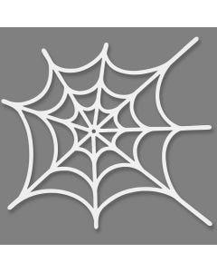 Spinneweb, afm 19x21 cm, 230 gr, wit, 16 stuk/ 1 doos