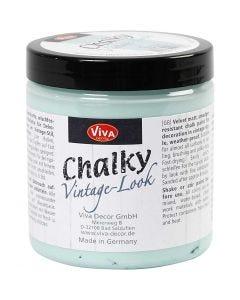 Chalky vintage look verf, aqua (703), 250 ml/ 1 Doosje