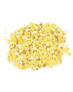 Terrazzo vlokken, geel, 90 gr/ 1 Doosje