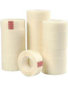 Magic tape/plakband, B: 19 mm, 20x33 m/ 1 doos