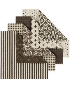Origamipapier, 50 div vellen/ 1 doos