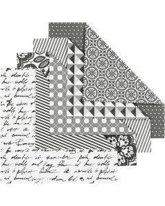 Origamipapier, 80 gr, 50 div vellen/ 1 doos
