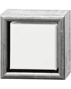 ArtistLine Canvas met lijst, diepte 3 cm, afm 14x14 cm, 360 gr, wit, 6 stuk/ 1 doos