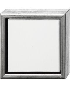 ArtistLine Canvas met lijst, afm 19x19 cm, wit, 6 stuk/ 1 doos