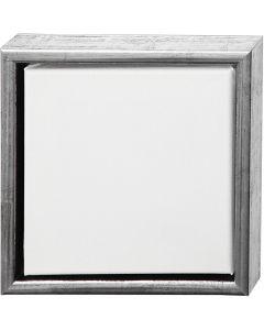 ArtistLine Canvas met lijst, afm 24x24 cm, wit, 6 stuk/ 1 doos