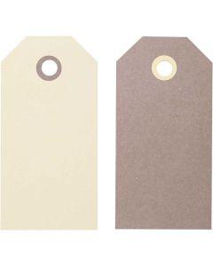 Labels, afm 10x5 cm, 250 gr, 2x10 stuk/ 1 doos