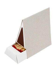 Luciferdoos, afm 8,5x5x9,5 cm, 10 stuk/ 1 karton