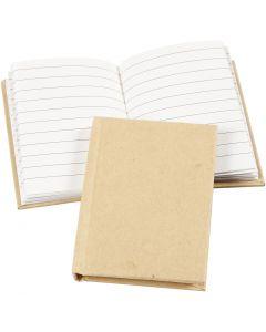 Notitieboek, A7, 60 gr, bruin, 1 stuk