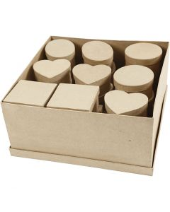 Medium dozen, H: 5 cm, d: 10-12 cm, 4x7 stuk/ 1 doos