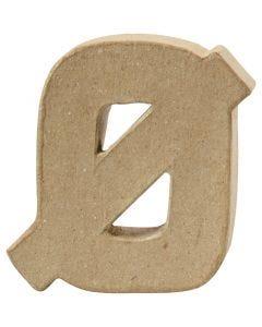 Letter, Ø , H: 10 cm, dikte 2 cm, 1 stuk