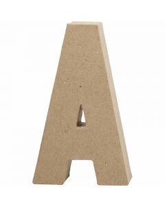 Letter, A, H: 20,5 cm, B: 11,8 cm, dikte 2,5 cm, 1 stuk