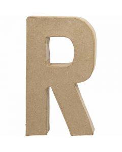 Letter, R, H: 20,5 cm, B: 11,7 cm, dikte 2,5 cm, 1 stuk