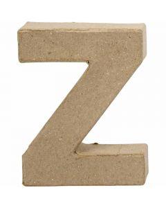Letter, Z, H: 10 cm, B: 7,5 cm, dikte 1,7 cm, 1 stuk