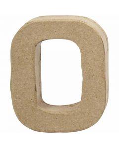 Cijfer, 0, H: 10 cm, B: 8 cm, dikte 2 cm, 1 stuk