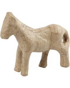 Paard, H: 12 cm, 1 stuk