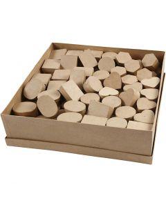 Mini dozen, H: 3 cm, d: 4-6 cm, 6x24 stuk/ 1 doos