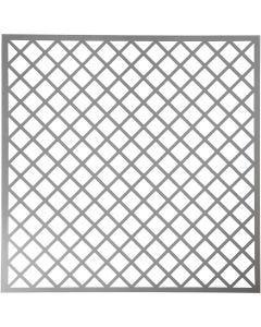 Sjabloon, vierkanten, afm 30,5x30,5 cm, dikte 0,31 mm, 1 vel