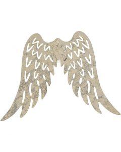 Vleugels, H: 6 cm, B: 7,5 cm, 5 stuk/ 1 doos