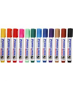 Whiteboard stiften, diverse kleuren, 4 stuk/ 1 doos