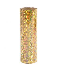 Deco folie, B: 15,5 cm, dikte 0,02 mm, goud, 50 cm/ 1 rol