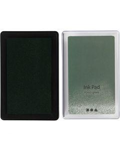Stempelinkt, H: 2 cm, afm 9x6 cm, lime groen, 1 stuk