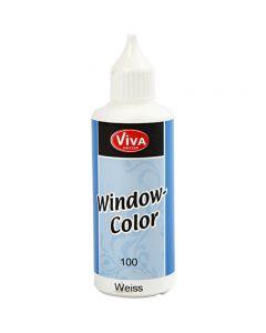 Window Color, wit, 80 ml/ 1 fles