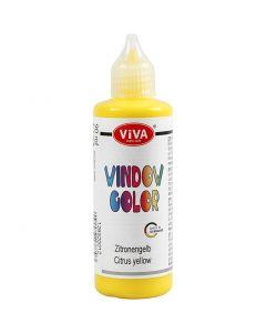 Window Color, geel, 90 ml/ 1 fles