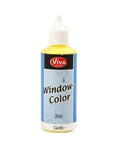 Window Color, geel, 80 ml/ 1 fles