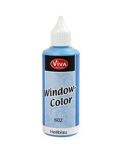 Window Color, lichtblauw, 80 ml/ 1 fles