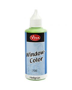 Window Color, lichtgroen, 80 ml/ 1 fles