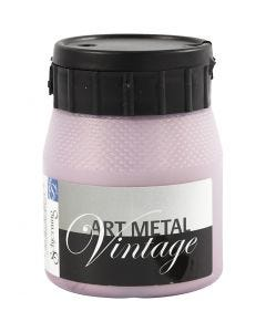 Art Metal verf, Parelmoer rood, 250 ml/ 1 fles