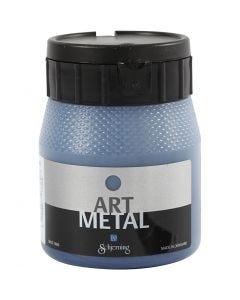 Art Metal verf, galaxy blauw, 250 ml/ 1 fles